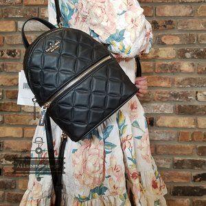 Kate Spade MINI NATALIA backpack Leather Black
